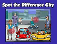 Spot The Difference City